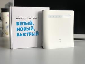 Yota запустила продажи нового «Интернет-центра Yota 2»