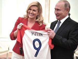 Президент Хорватии поблагодарила нижегородцев за гостеприимство
