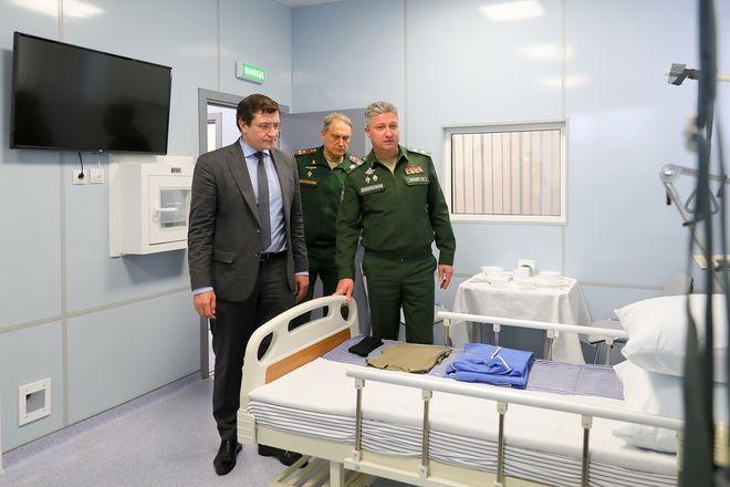 Стало известно, как изнутри выглядит новый госпиталь в Нижнем Новгороде - фото 6