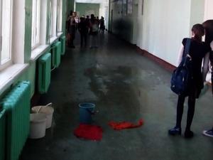Нижегородцы жалуются на протекающую крышу в школе № 116