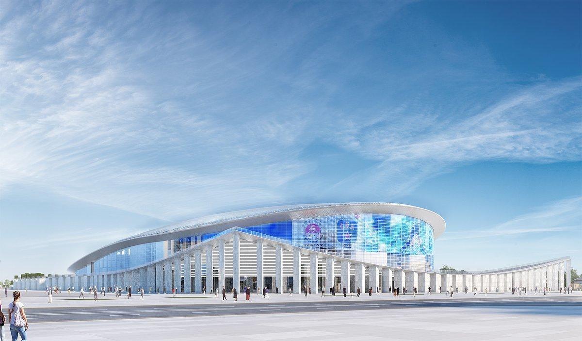 Госэкспертиза одобрила проект строительства ледовой арены на Стрелке в Нижнем Новгороде - фото 1