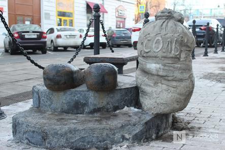 Галоши, ложка, объявление: памятники каким предметам установили в Нижнем Новгороде