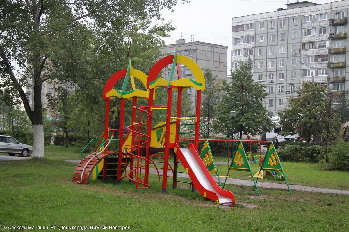 76 детских площадок появятся в Нижнем Новгороде к 800-летию города - фото 1