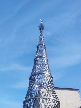 Уменьшенная копия Шуховской башни появилась в Арзамасе - фото 6