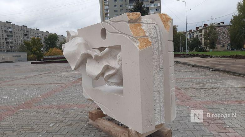 Скульптуры для украшения Нижне-Волжской набережной прозябают на площади Ленина - фото 2