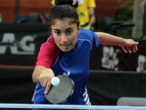 Нижегородка завоевала две медали на мировом про-туре по настольному теннису