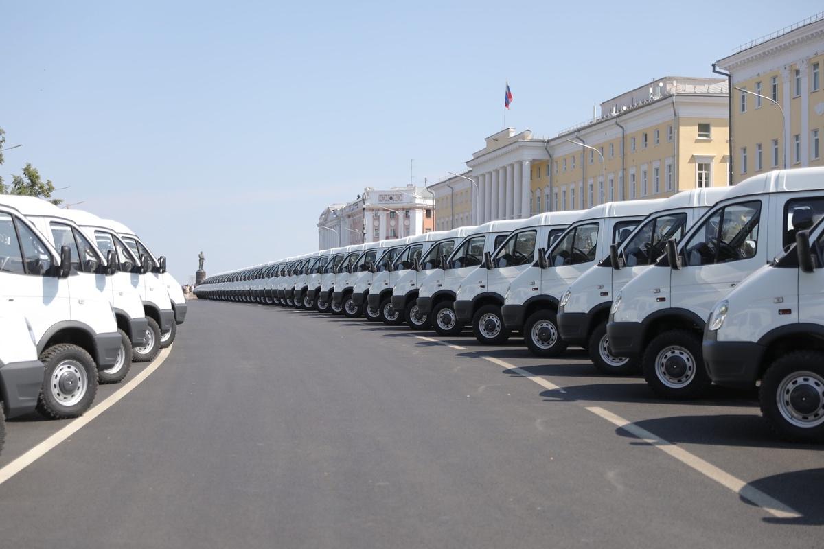 103 новых автомобиля поступят в медучреждения Нижегородской области - фото 1