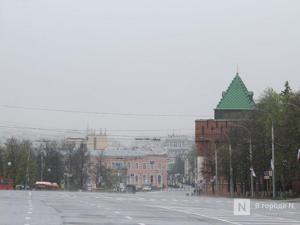 Пустые улицы и «Бессмертный полк» на балконах - фото 58