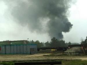 Названа причина пожара на заводе «Нижегородхим» в Дзержинске