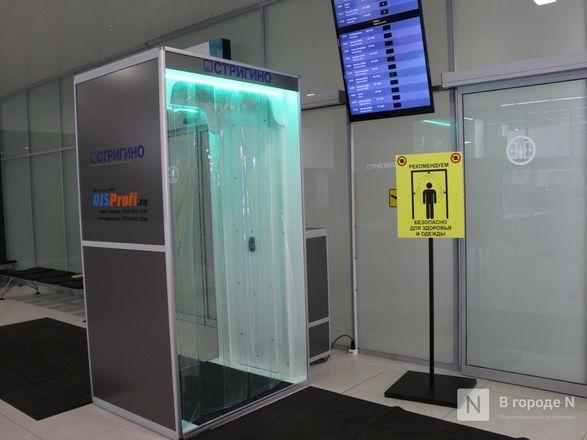 Уникальные дезинфекционные тоннели появились в нижегородском аэропорту - фото 16