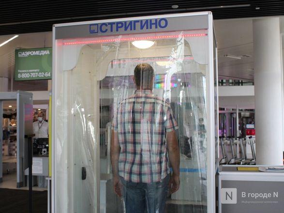Уникальные дезинфекционные тоннели появились в нижегородском аэропорту - фото 13