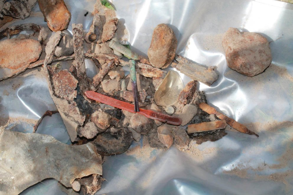 Нижегородские поисковики нашли останки красноармейцев в Беларуси - фото 3