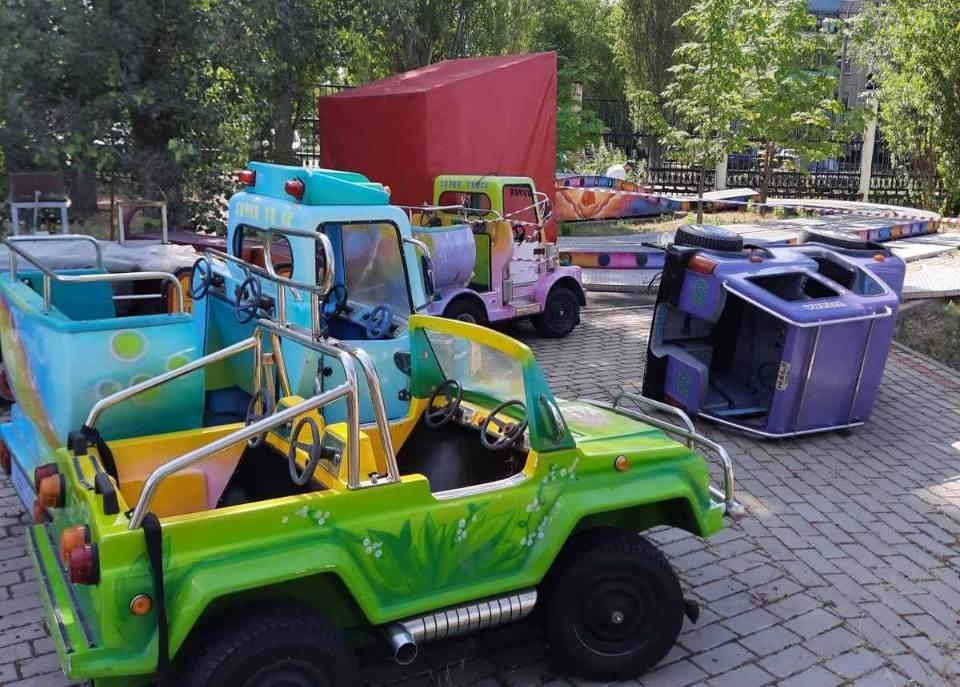Аттракционы из «Швейцарии» заработают в парке им. 777-летия Нижнего Новгорода - фото 1