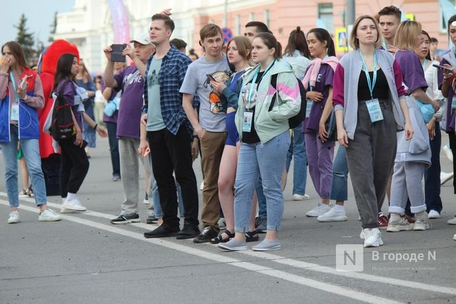 Молодость, дружба, творчество: как прошло открытие «Студенческой весны» в Нижнем Новгороде - фото 77