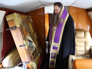 Митрополит Георгий совершил на вертолете крестный ход против коронавируса вокруг Нижегородской области