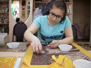 Открытие выставки «Дом с мозаикой» пройдет в НГХМ