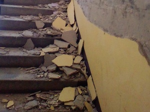 Два новых дома в Балахне разрушаются по вине застройщика