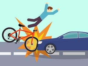 Юного велосипедиста сбила японская иномарка в Ленинском районе