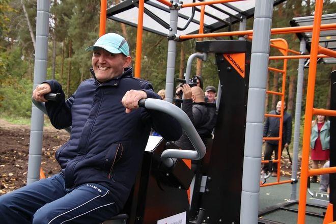Спортплощадка для людей с инвалидностью появилась в Дзержинске - фото 1