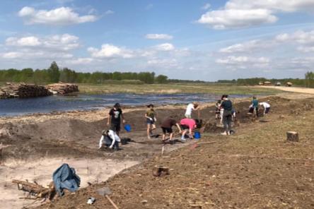 Археологические раскопки начались у русла Оки на М-12 в Нижегородской области