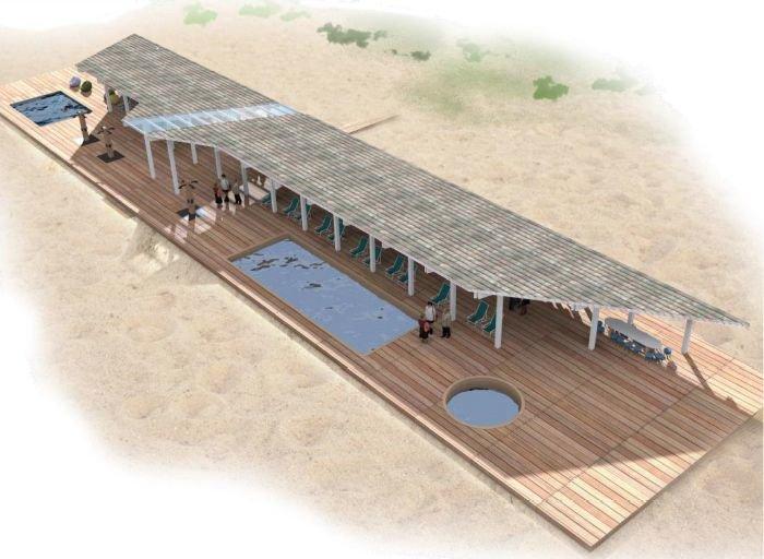 Площадка-корабль и бассейны: как преобразятся Печерские пески - фото 5