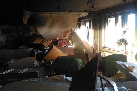 Взрыв в доме на Краснодонцев