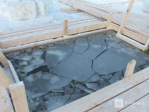 76 крещенских купален оборудовано в Нижегородской области
