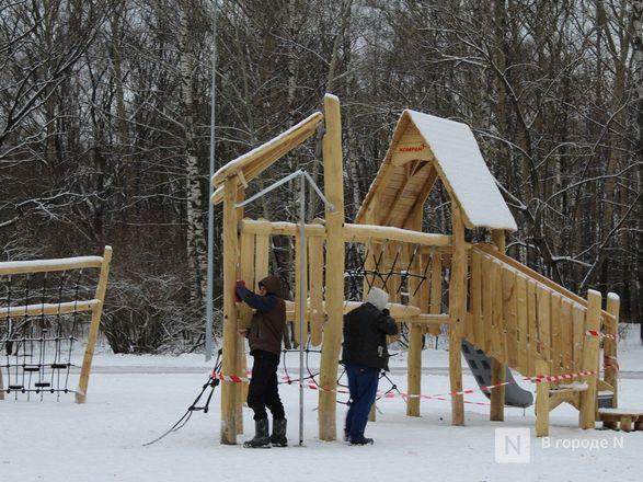 Скалодром и новые развлечения для детей появились в парке «Дубки» - фото 39