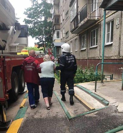 Пенсионеры пострадали в результате пожара в Нижегородском районе - фото 3