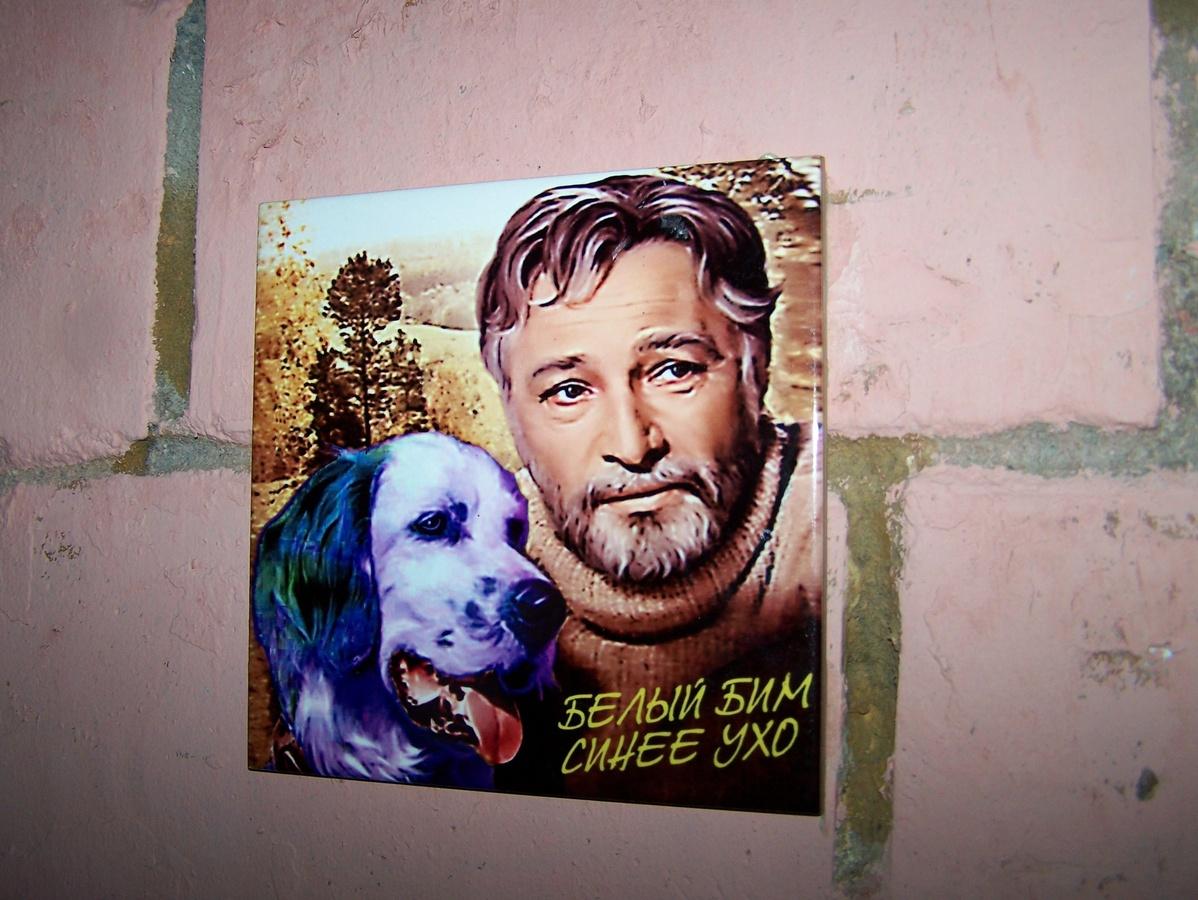 Арт-объект с синей собакой появился в центре Нижнего Новгорода - фото 1