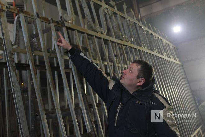 Как идет реставрация исторической ограды парка «Швейцария» - фото 33