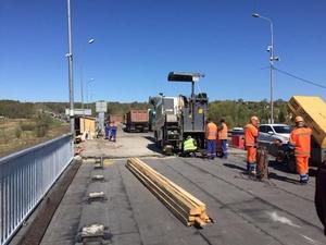 Мост через Кудьму откроют к 18 мая