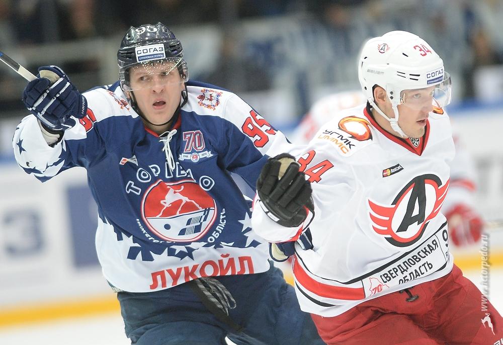 «Автомобилист» обыграл «Торпедо» вНижнем Новгороде