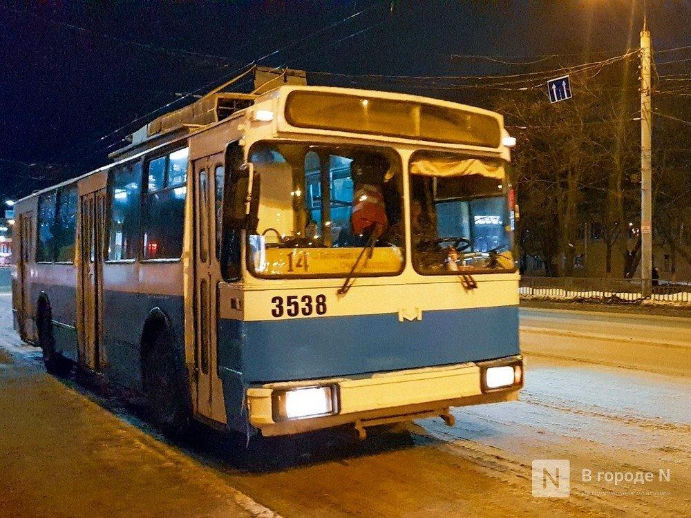 30 троллейбусов передаст Москва Нижнему Новгороду вслед за трамваями