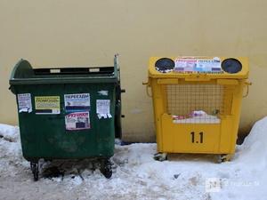 Опасные отходы выбрасывают нижегородцы в контейнеры