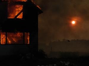 25 человек эвакуировали из жилого дома в Богородске из-за пожара
