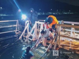 Нижегородка оказалась в шаге от обморока во время купания на Крещение
