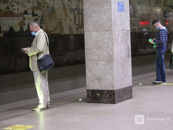 200 пассажиров нижегородского метро получили бесплатные маски - фото 24
