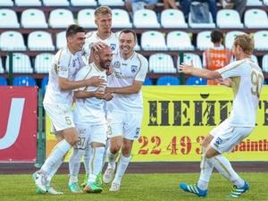 Нижегородские футболисты обыграли хозяев матча на их поле