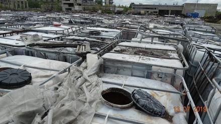 Свалку кислоты и ртути обнаружили нижегородские экологи под Дзержинском