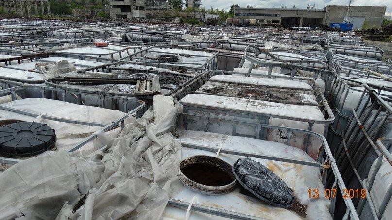 Свалку кислоты и ртутных ламп обнаружили нижегородские экологи под Дзержинском - фото 1