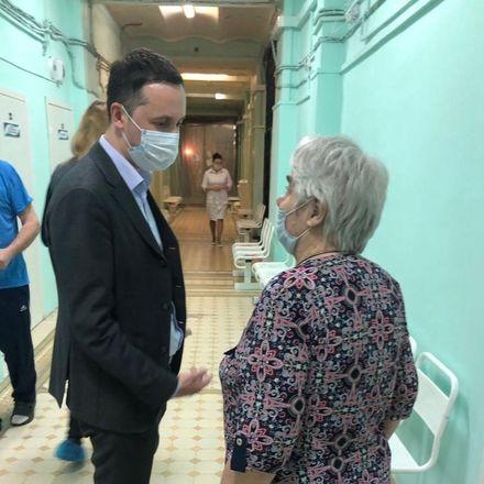 Мелик-Гусейнов проверил питание в Нижегородском областном госпитале ветеранов войн - фото 3