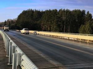 Новый мост через Узолу открыли для транспорта