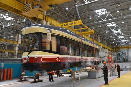 Первый ретро-трамвай отправился в Нижний Новгород с «Уралтрансмаша»