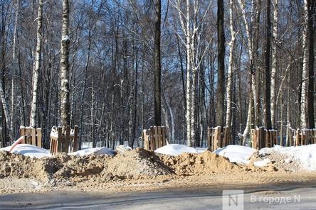 Благоустройство парка «Швейцария» в Нижнем Новгороде завершено почти наполовину