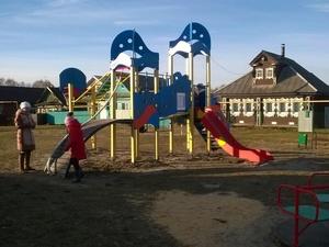 Новая детская площадка открылась в Борском районе