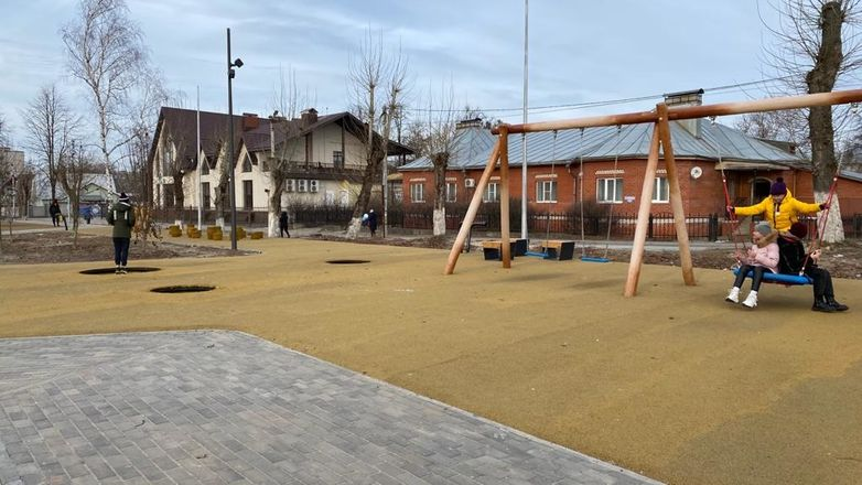 Сквер Корабелов в Навашине ждет дополнительное озеленение - фото 4