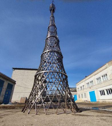 Уменьшенная копия Шуховской башни появилась в Арзамасе - фото 3