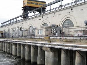 Весеннее половодье началось на Нижегородской ГЭС