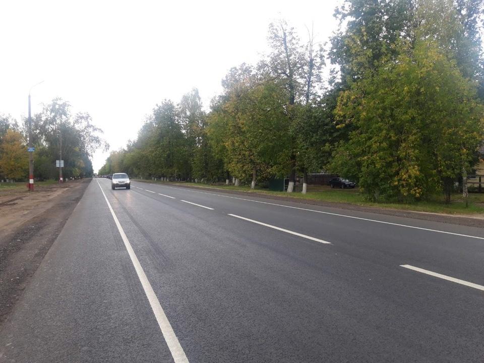 Участок трассы Шопша — Нижний Новгород отремонтировали за 84 млн рублей - фото 1